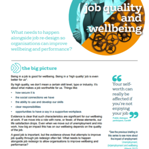 Workplace wellbeing questionnaire: methodology | What Works