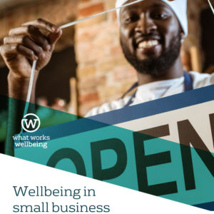 Wellbeing in small business - practice examples