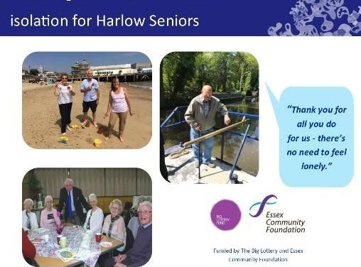 Understanding the difference between social isolation and loneliness: social clubs for older people in Harlow