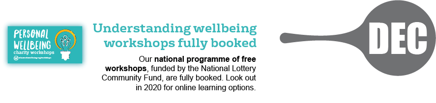 December - understanding wellbeing workshops fully booked