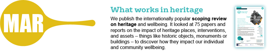 March - what works in heritage