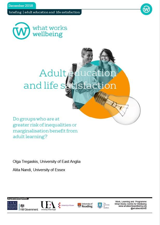 Adult learning and life satisfaction