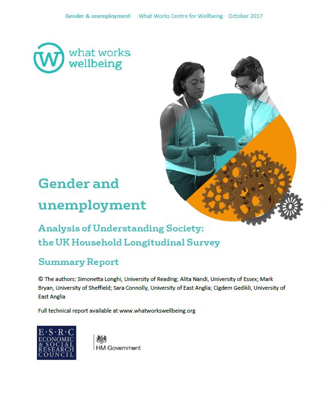Gender and Unemployment