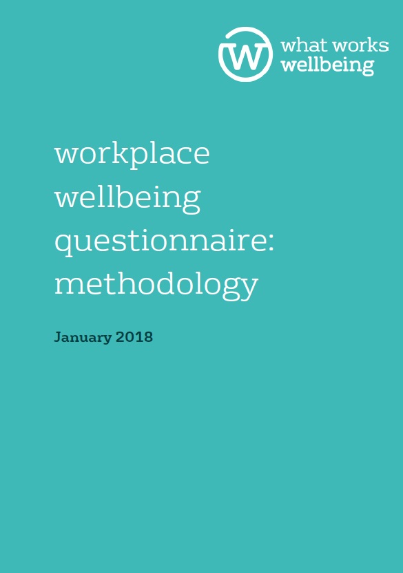 Workplace Wellbeing Questionnaire: Methodology