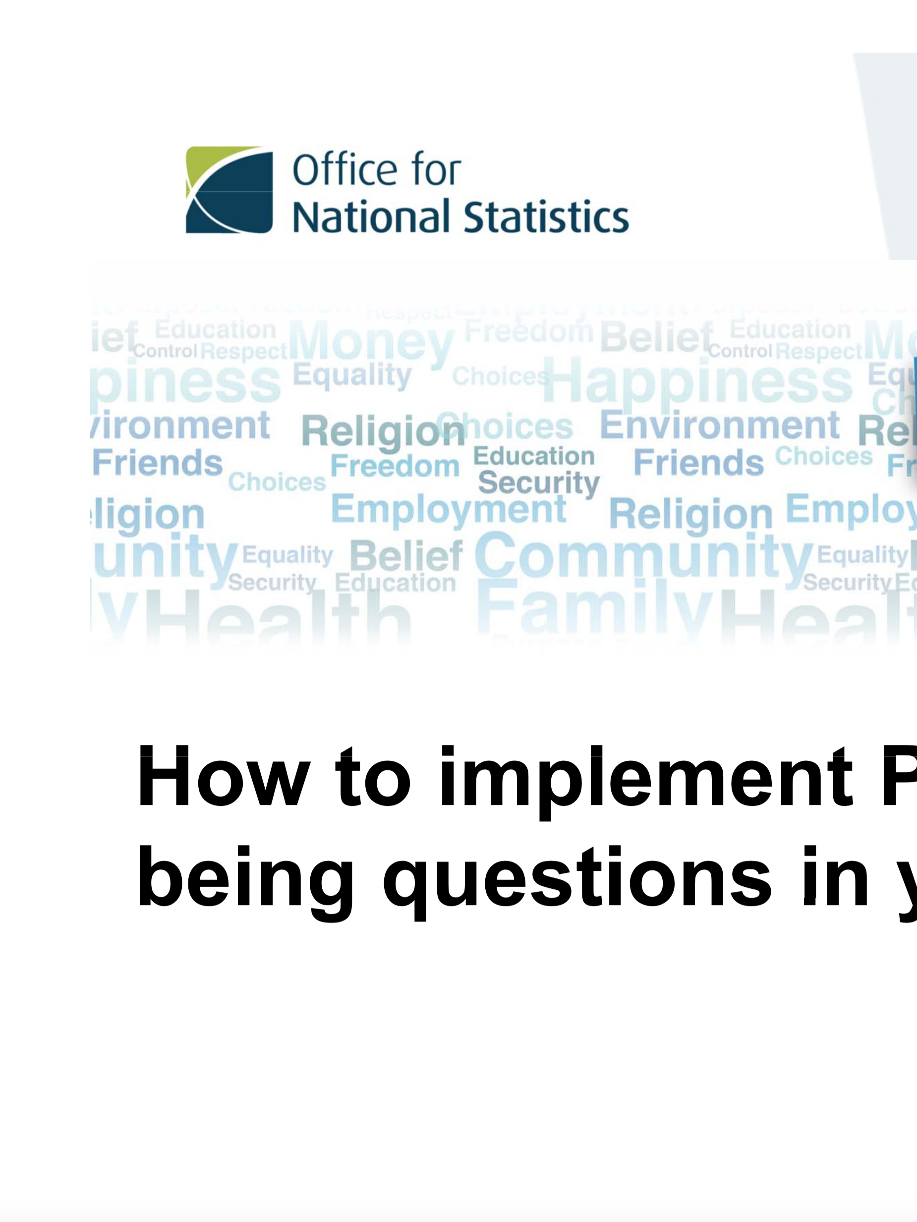 How to Implement Personal Wellbeing Questions in Your Survey