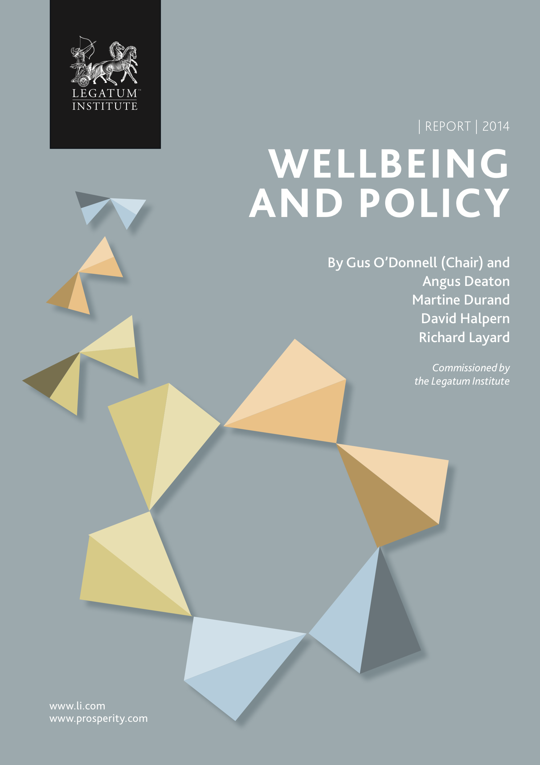 Commission on wellbeing and policy report