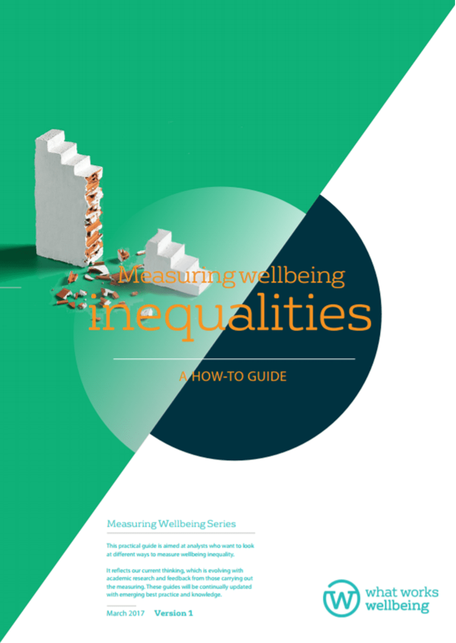 Measuring wellbeing inequalities: a how-to guide