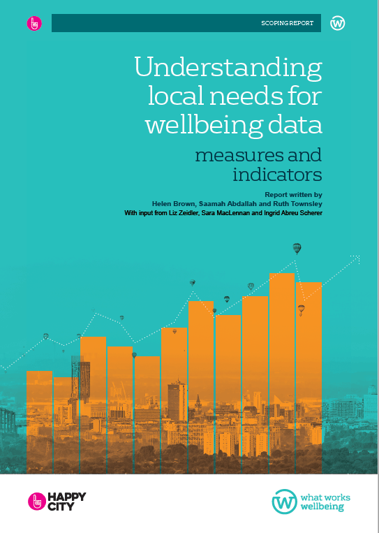 Understanding Local Needs for Wellbeing Data