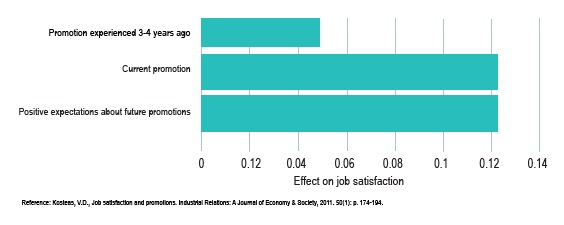 The effect of actual promotion or perceived promotion prospects upon job satisfaction