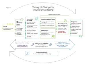 Theory of Change for volunteer wellbeing