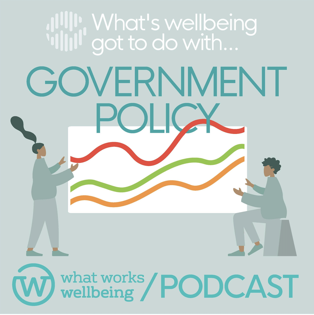 Government policy: what's wellbeing got to do with it?