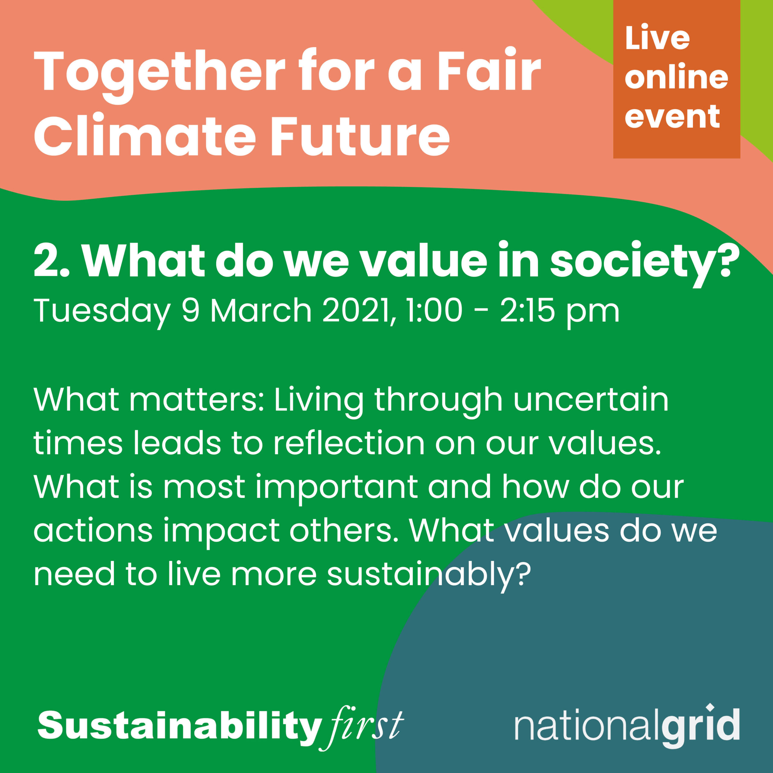 What do we value? Together for a fair climate future