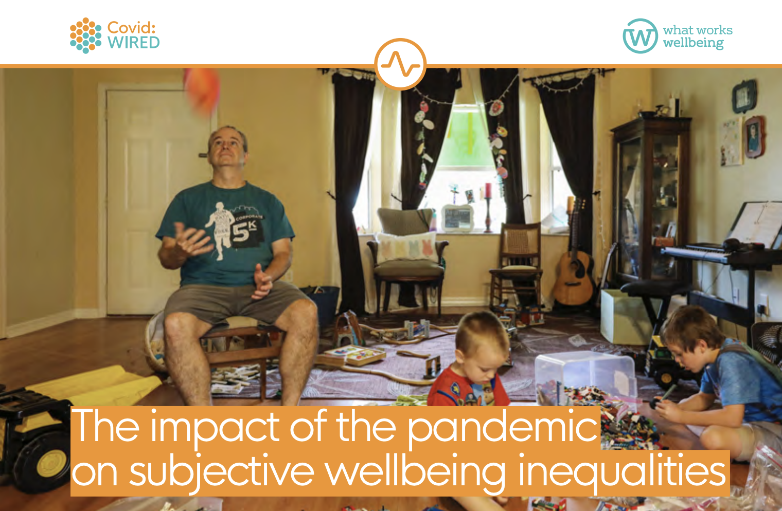 The impact of the pandemic on subjective wellbeing inequalities