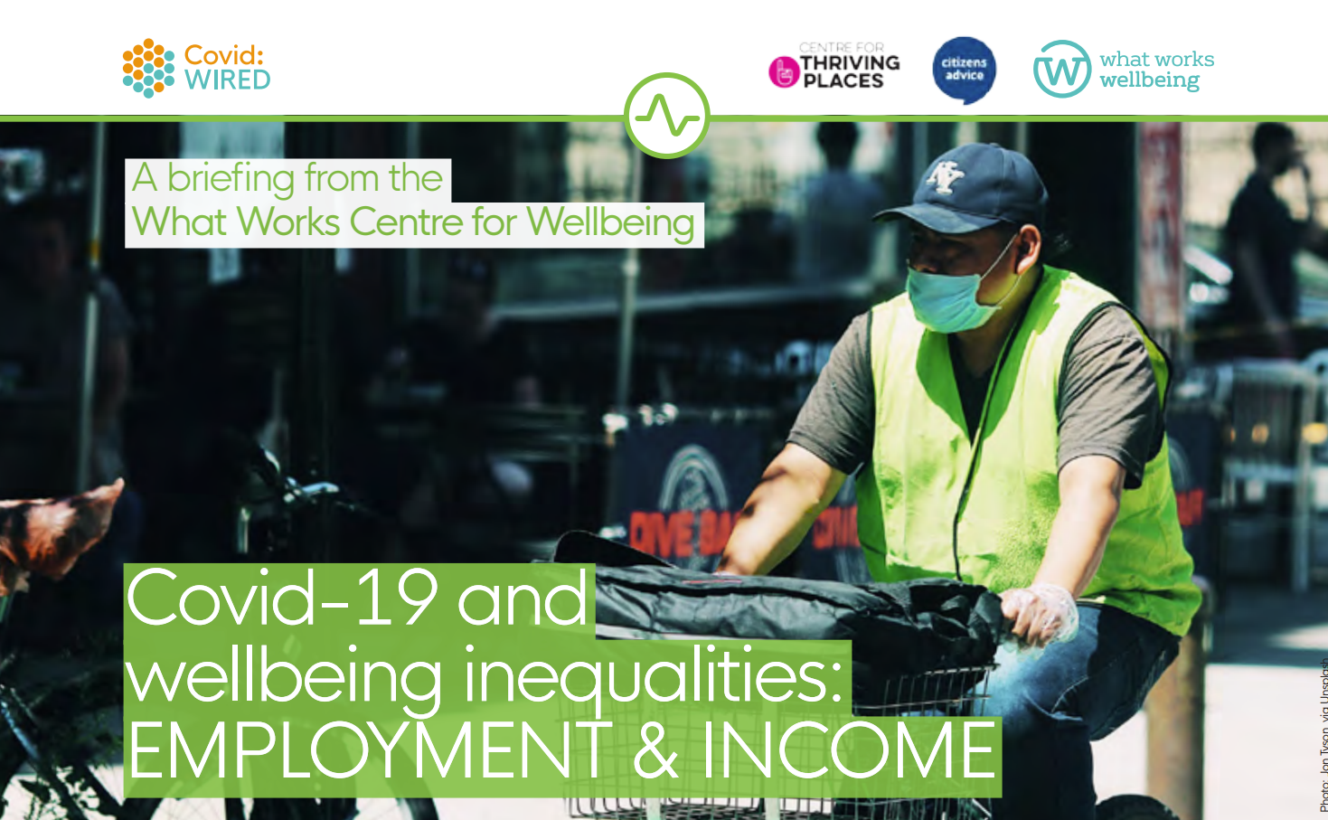 Covid-19 and wellbeing inequalities: Employment and income