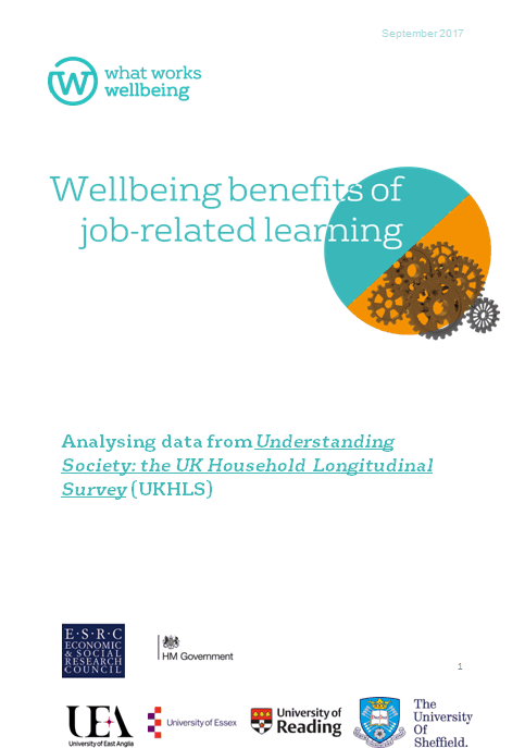 an analysis of the benefits of lifelong learning Multivariate analysis: the contribution of adult learning to wellbeing and health related  and in order to disentangle the wider benefits of lifelong learning.