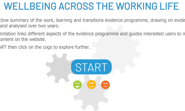 What works to improve wellbeing at work? Three years of evidence