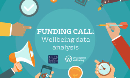 NEW FUNDING CALL – Understanding wellbeing: Secondary Analysis Data Initiative funding